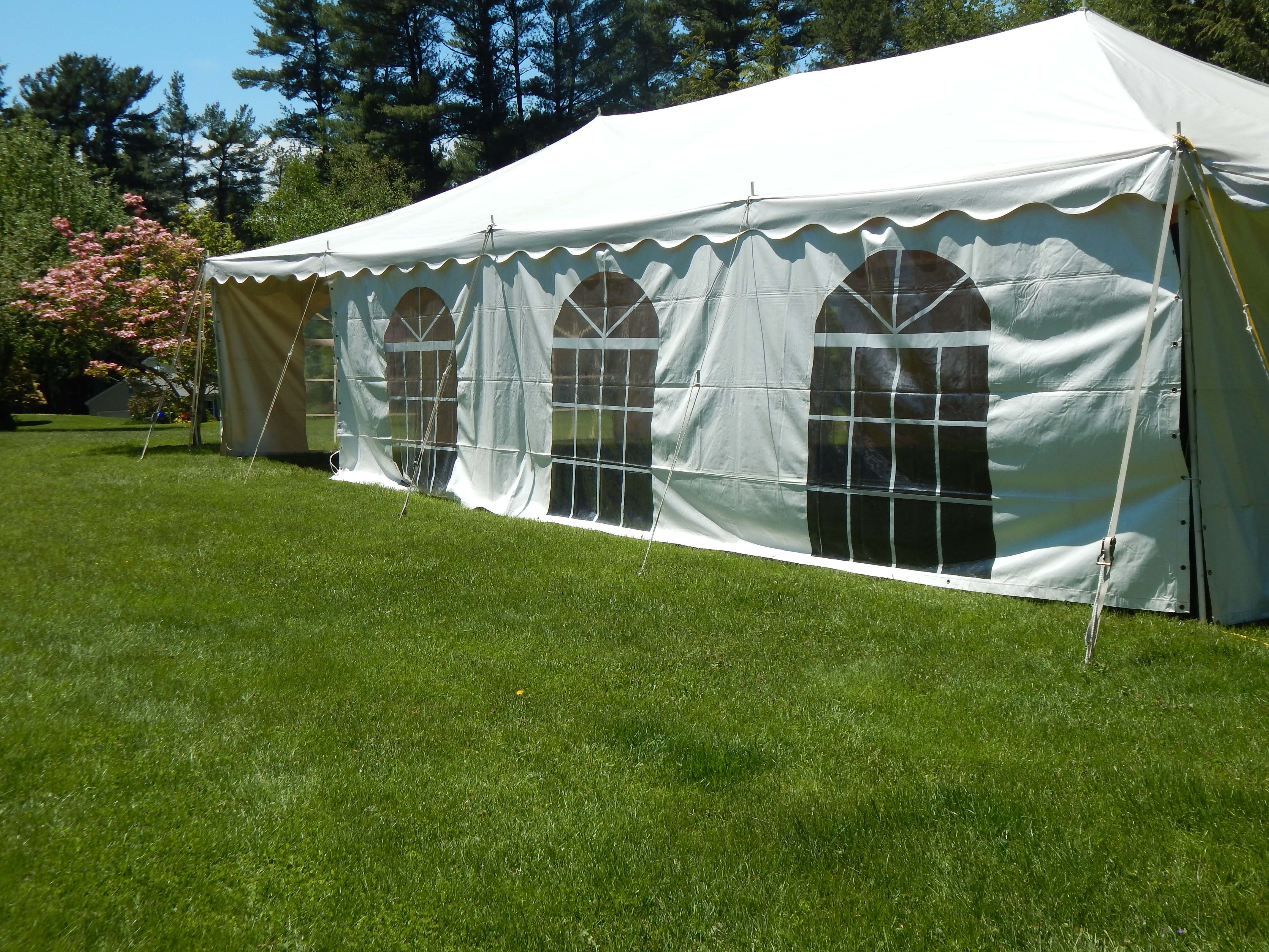 Somers, CT, Bridal Shower 20'x40'