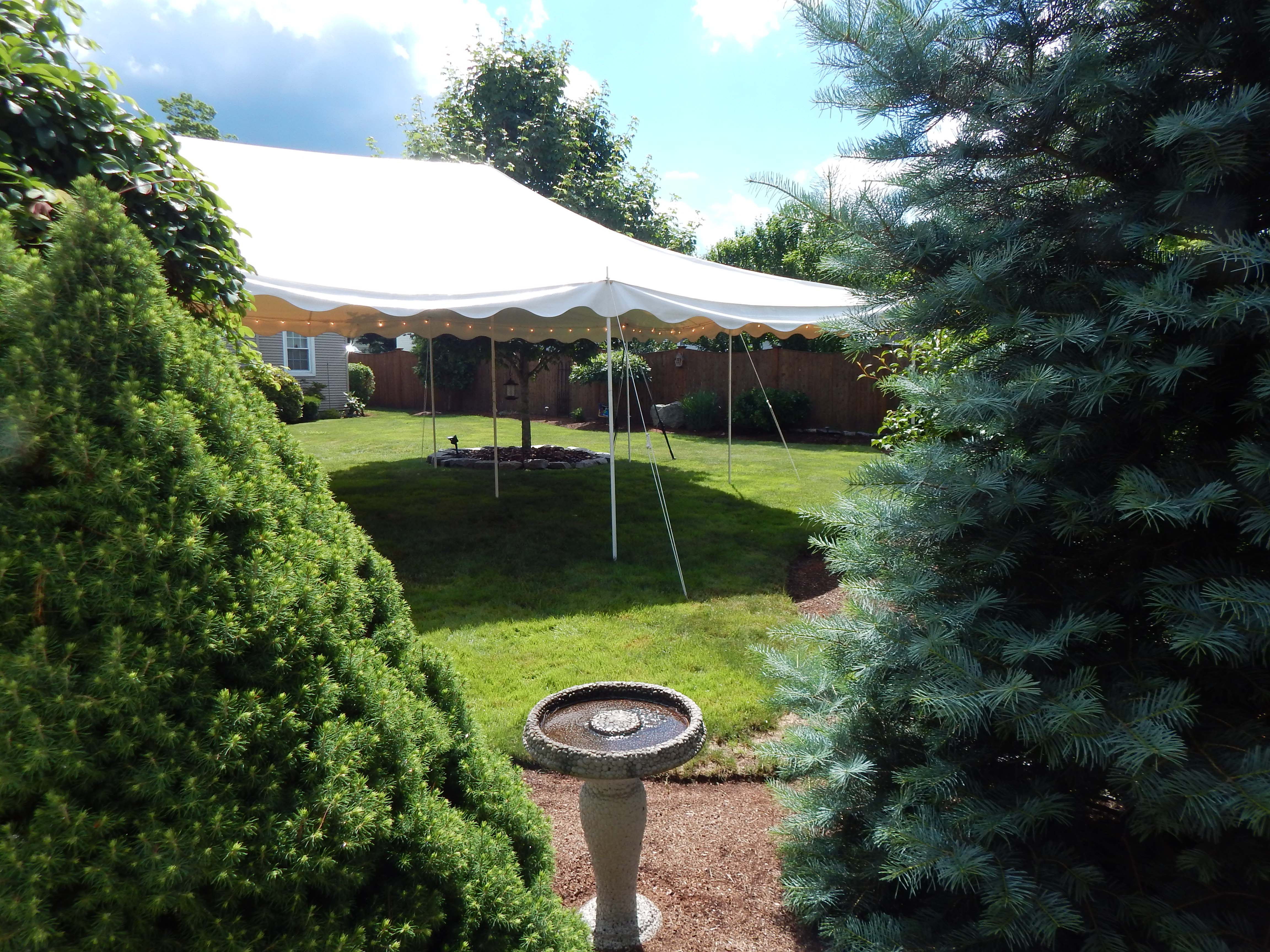 Springfield, MA, Private Party, 20'x30'